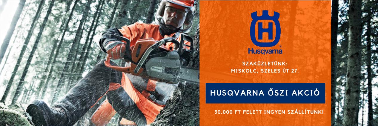 Husqvarna Őszi Akció 2020 Kazinc-Logger v1