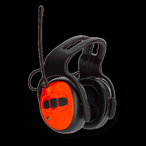 Hallásvédő FM rádióval
